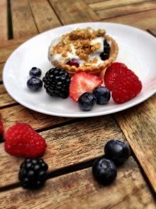 berry tartlette parfait